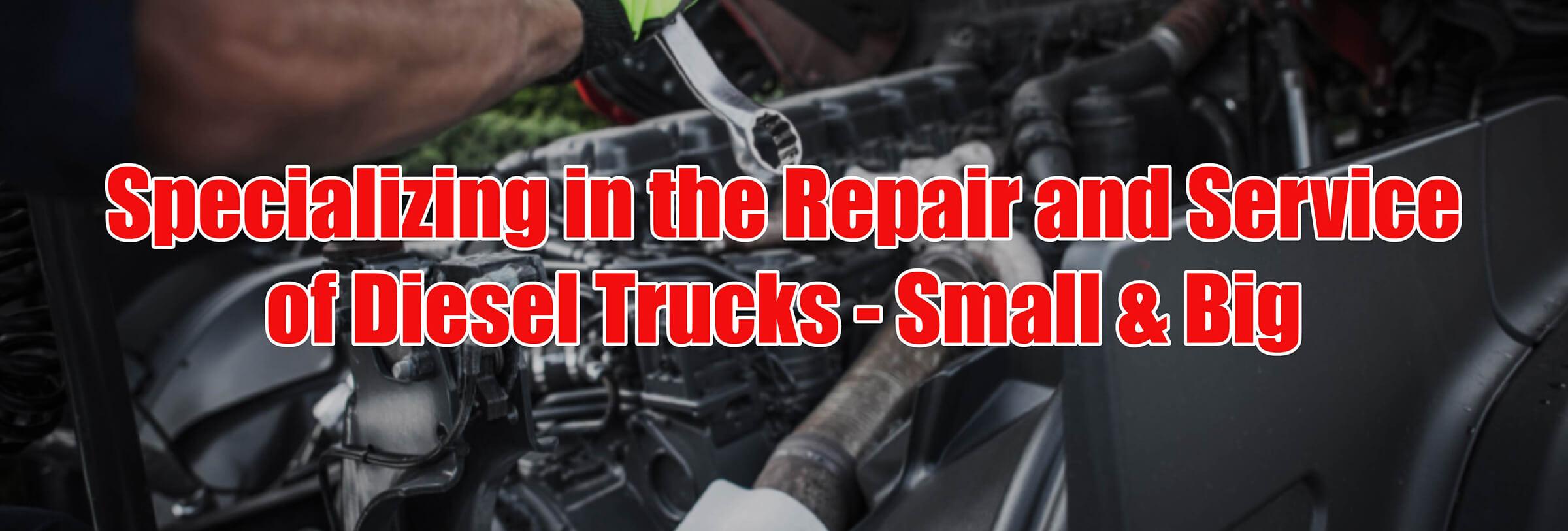 Diesel Truck Repair Moose Jaw SK